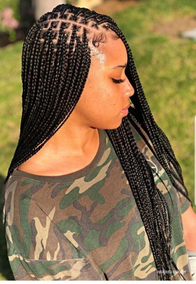 Knotless Box Braids Are Trending Right Now Inspired Beauty