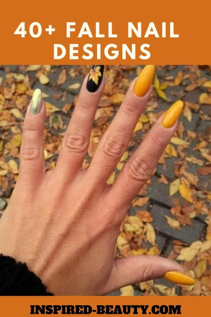 41 Cute Autumn Fall Nail Designs To Try Inspired Beauty,Beautiful Meaning Tattoo Designs For Women
