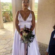 Bargain wedding dress