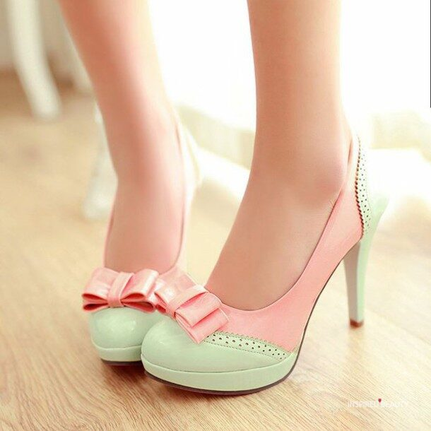 Kawaii Pastel Pink and Mint Green