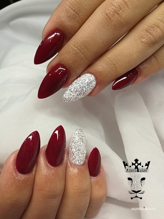 16 Breathtaking Almond Nail Art Designs To Copy This Winter