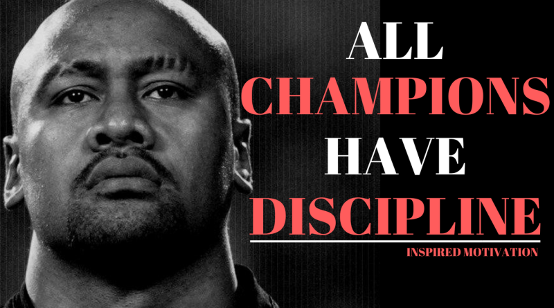 Discipline Motivational Speech - Best 4 Minute Motivational Video To Work Hard - Jonah Lomu Motivation