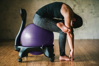 gaiam balance ball