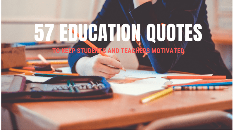 best education quotes for students and teachers