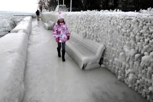 Замерзла Європа