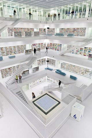 New Stuttgart Library