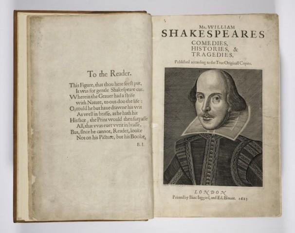Перше фоліо: комедії, історії і трагедії Шекспіра