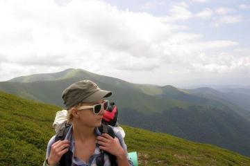 Альона Дєньга, авторка блогу RunForFun - про книги та активний спосіб життя