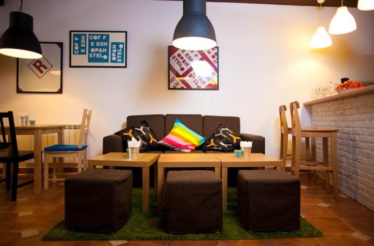 Yard Hostel & Coffee Shop: новий хостел в Чернівцях