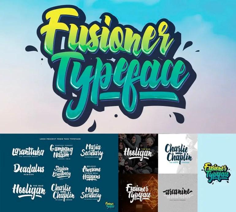 Fusioner Typeface Descarga Gratis