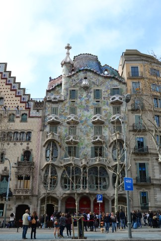 Casa Batllo from the front