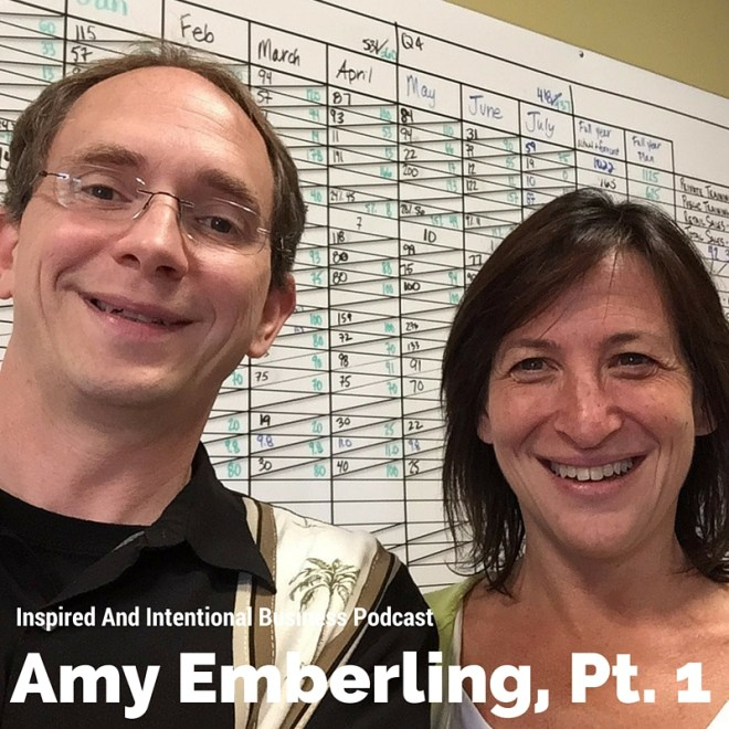 Inspired And Intentional Business Podcast Amy Emberling, ZingTrain Pt 1