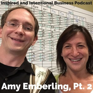 Todd Reed, Inspired and Intentional Podcast host with Amy Emberling, Managing Partner Zingerman's Bakehouse