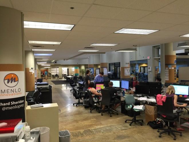 Menlo Innovations' Open Workspace