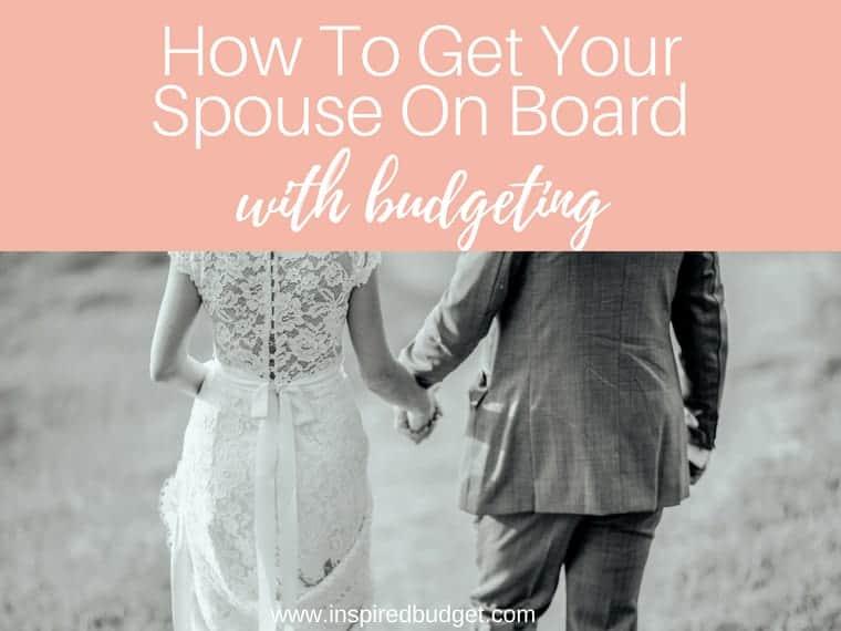spouse marriage budget by inspiredbudget.com