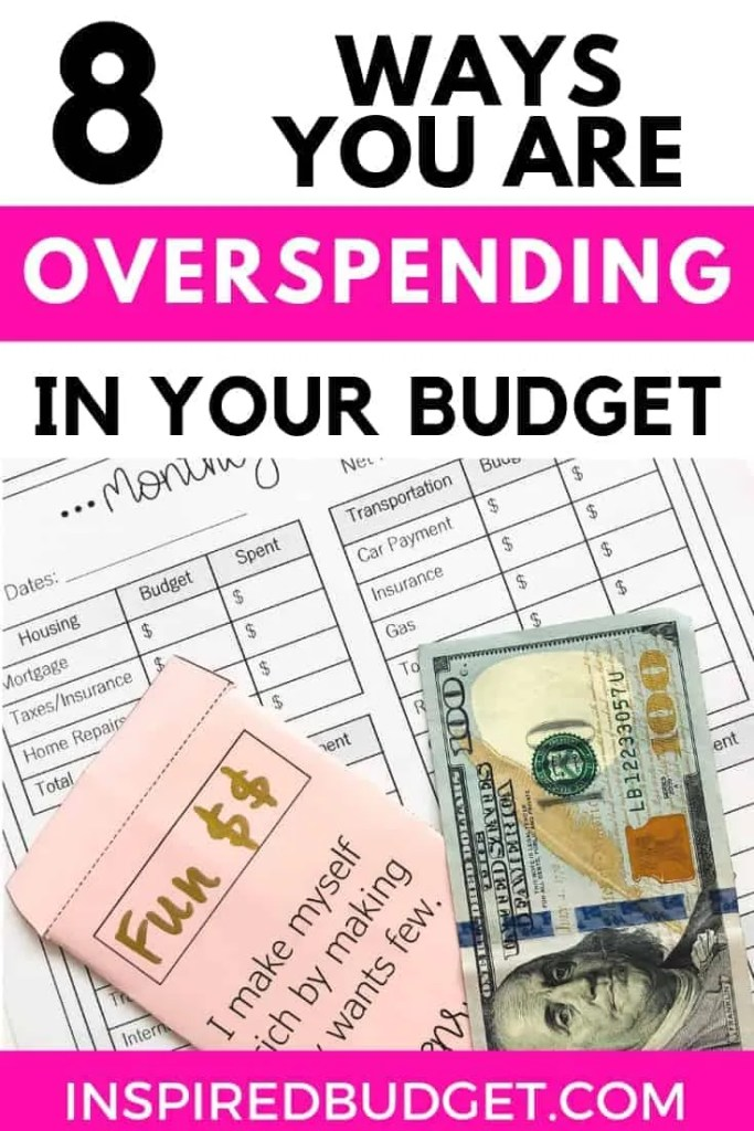 What You Need To Cut From Your Budget by InspiredBudget.com
