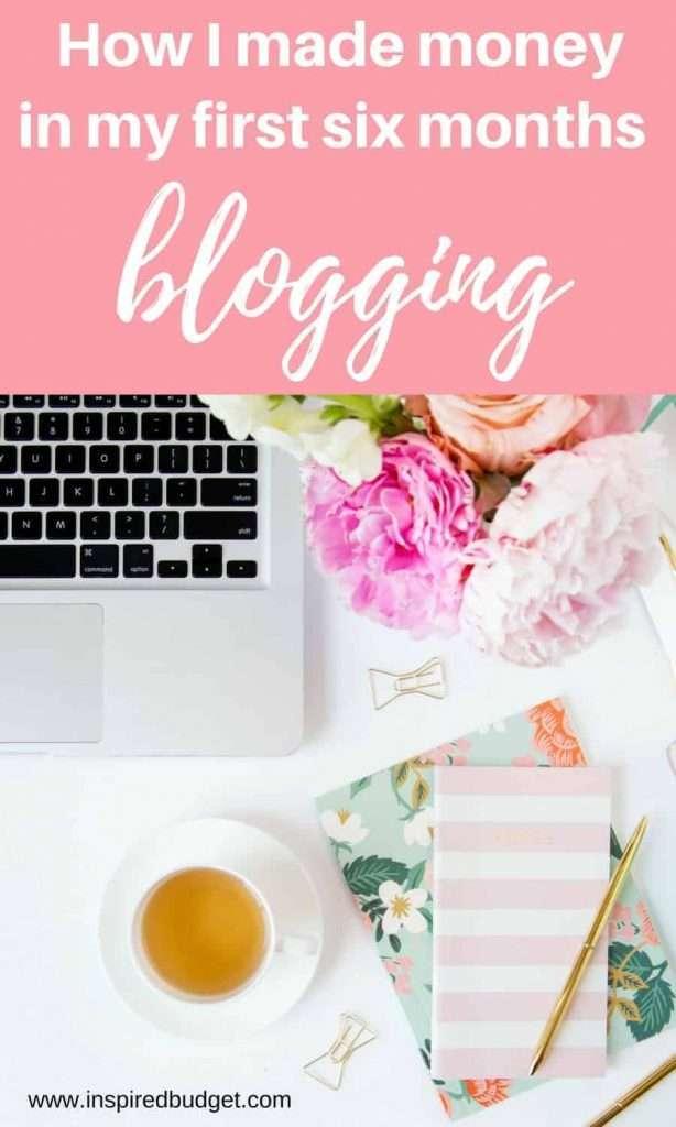 blogging income report by inspiredbudget.com