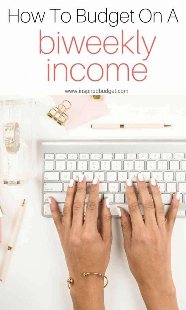 biweekly budget by www.inspiredbudget.com