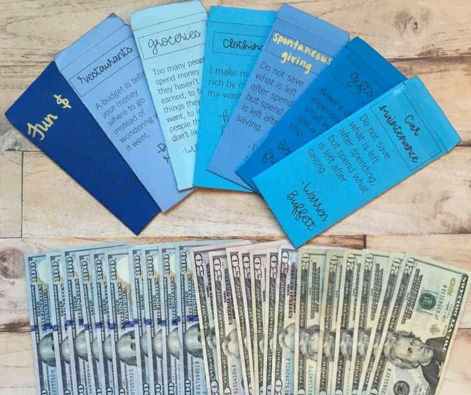 cash envelopes by inspiredbudget.com