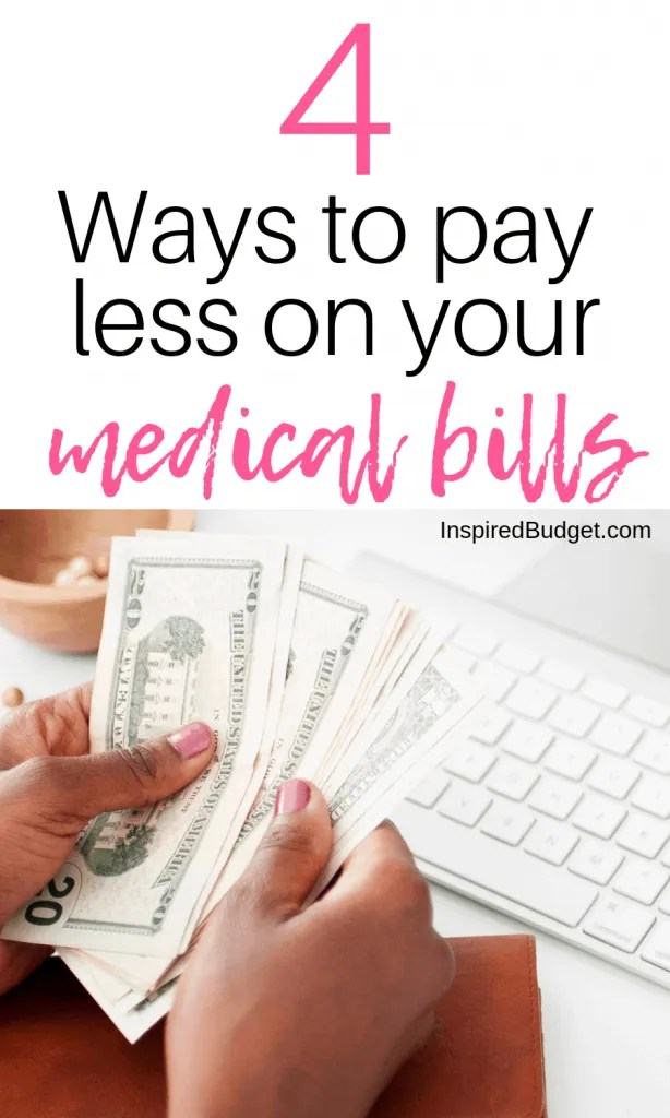 How To Negotiate Your Medical Bills by InspiredBudget.com