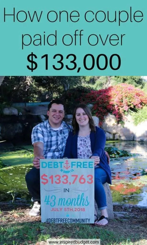 how amanda paid off over $133,000 of debt by inspiredbudget.com