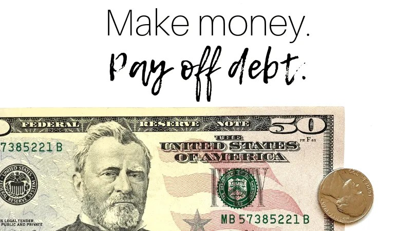 Easy Way To Make Money And Pay Off Debt by InspiredBudget.com