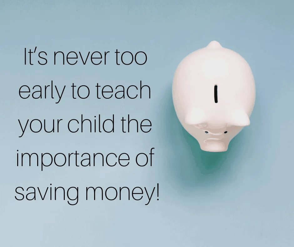 How To Teach Your Kids To Save Money by InspiredBudget.com