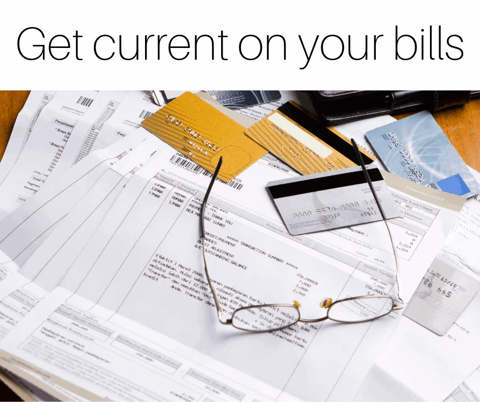 Get current on your bills by InspiredBudget.com