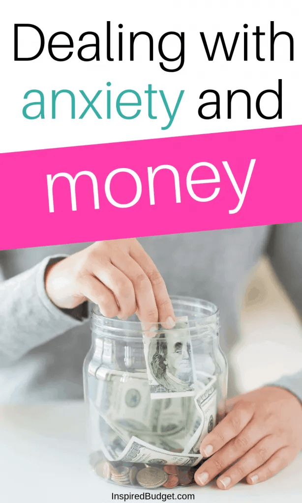 Anxiety and Money by InspiredBudget.com