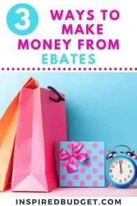 Earn Money With Ebates by InspiredBudget.com