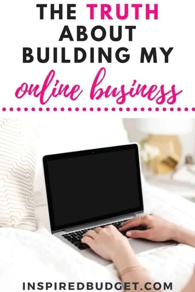 How Building My Online Business Has Changed My Life by InspiredBudget.com