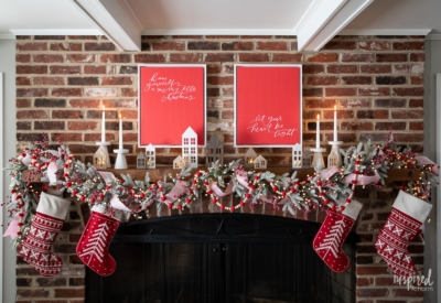 Magical and Cozy Fireplace Christmas Decorations