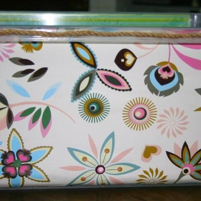 DIY Decorative Storage Bins