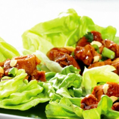 Kid Friendly Around the World Recipes: Thai Lettuce Wraps with Peanut Sauce