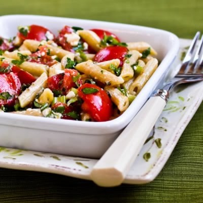 Sweet Bacon Penne Pasta Salad