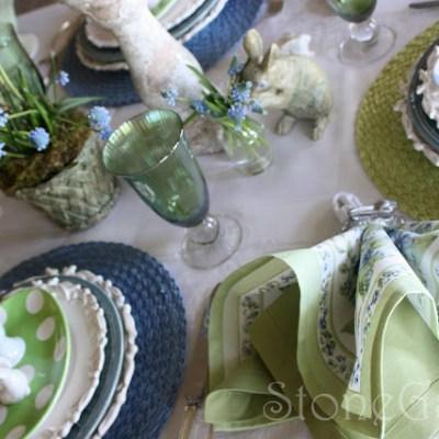 Easter Brunch Tablescape
