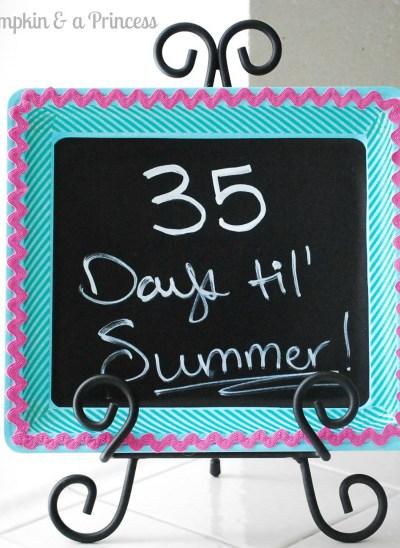 Summer Countdown Craft
