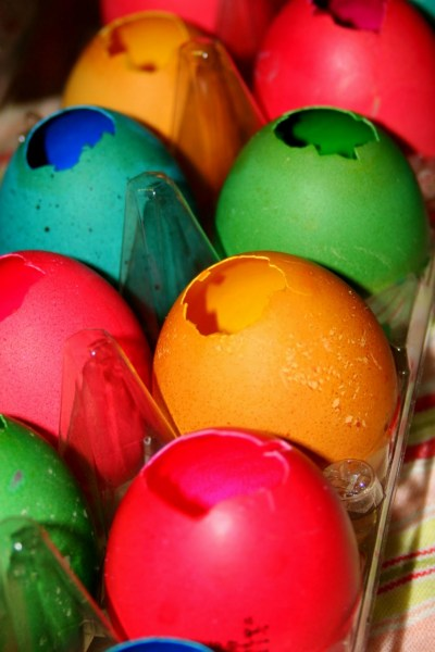 From Mi Casa to Yours: Cascarones-Confetti Filled Eggs