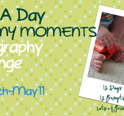 Mommy Moments Photo Challenge Has Begun