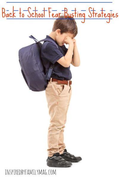 Fear Busting Strategies: New School or New Grade