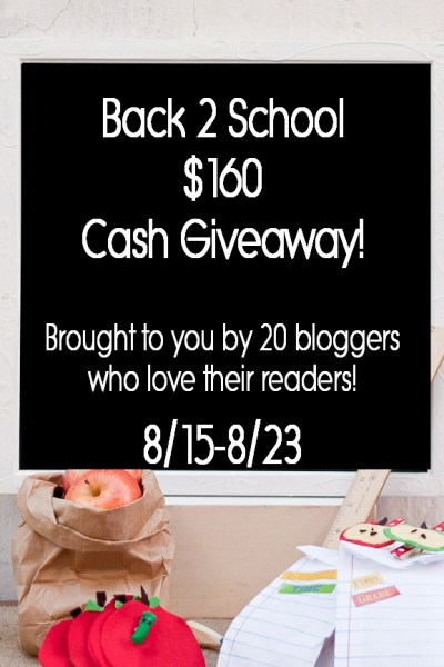 Back to School Cash Giveaway!