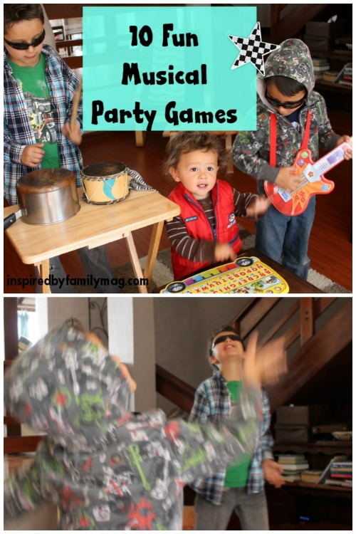 fun music party games