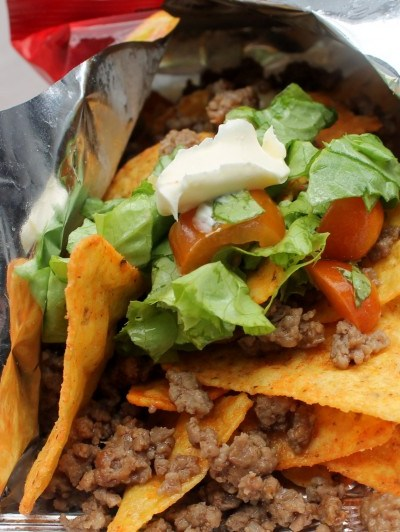 Taco Salad in a Bag