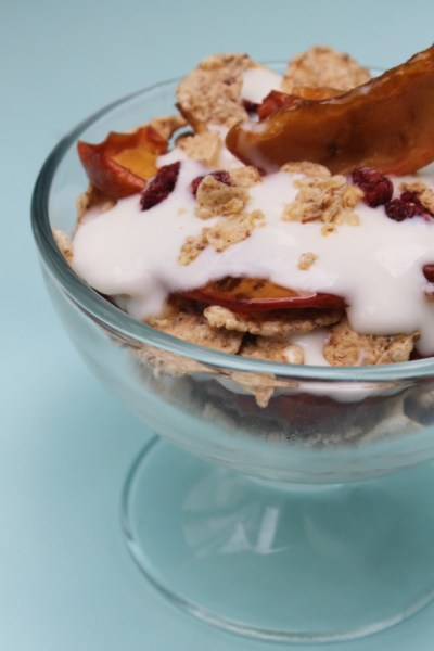Cranberry Apple Breakfast Parfait