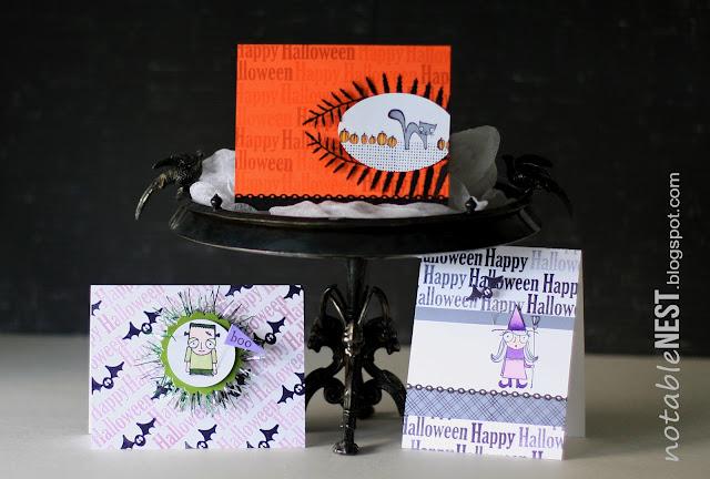 DIY Halloween Card Creations