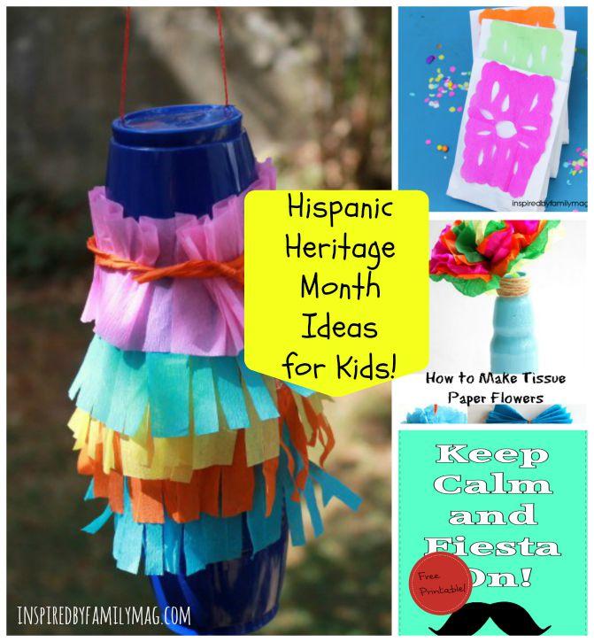 hispanic heritage month ideas
