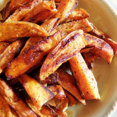 Healthy Spiced Sweet Potato Fries