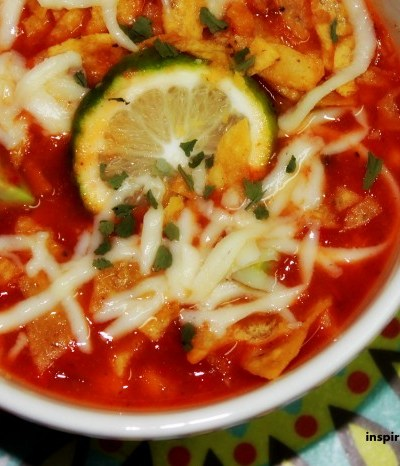 Authentic Mexican Food: Amazing Chicken Tortilla Soup