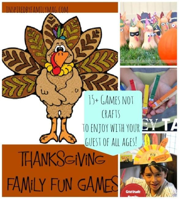 thanksgiving family fun games
