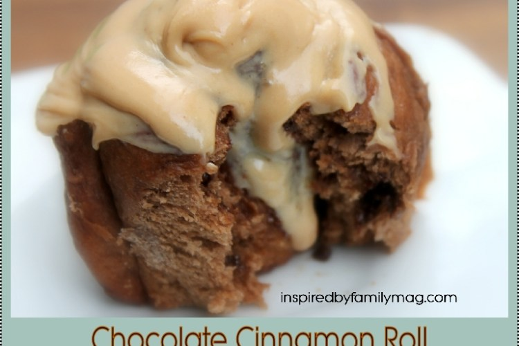 Amazing Chocolate Cinnamon Rolls with Peanut Butter Icing (in 2 hours recipe)